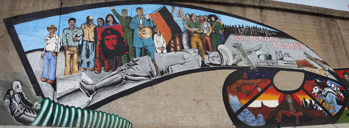 Fallen Dictator (panel of Prevent World War III) by Marcos Raya.