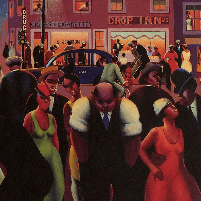 'Black Belt' by Archibald Motley, Jr., 1934