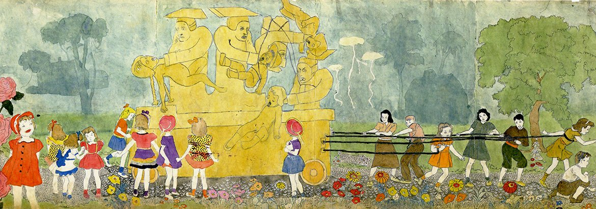 One of Henry Darger's illustrations