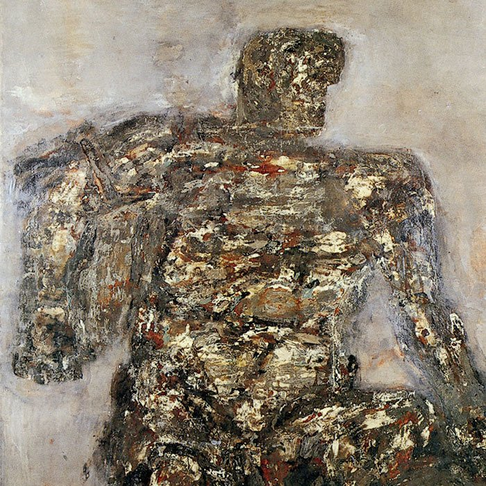Colossal Figure by Leon Golub