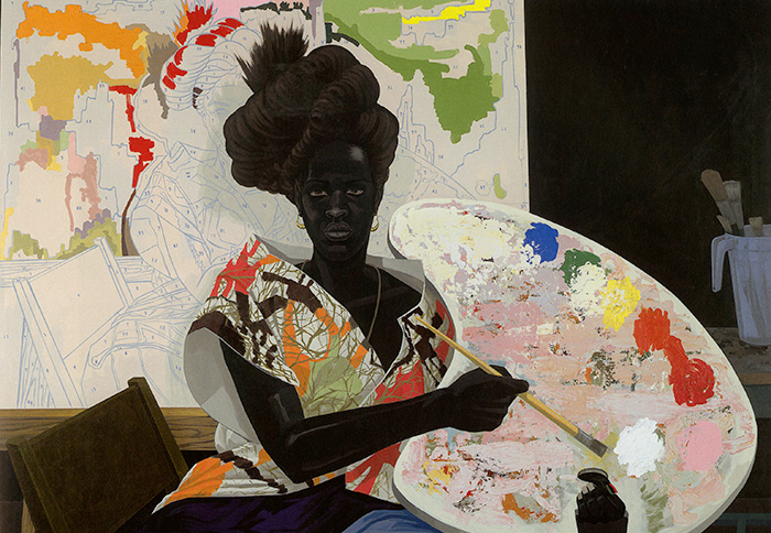 Untitled by Kerry James Marshall, 2009