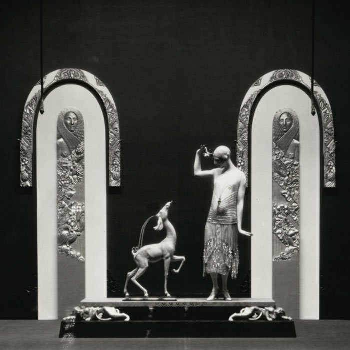 A window display designed by Arthur Fraser at Marshall Field's, November, 1925