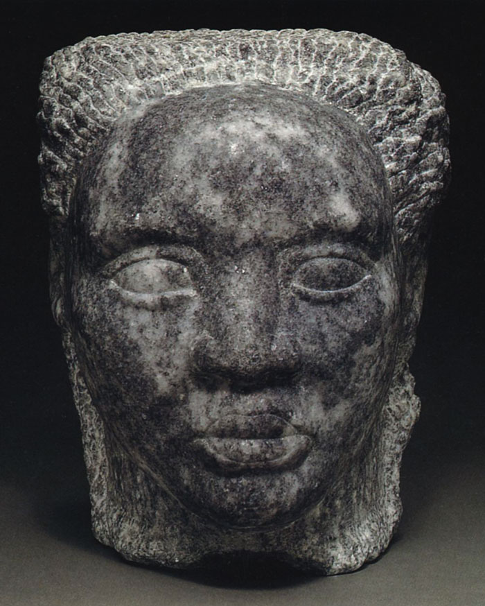 'Portrait of Eva' sculpture by Marion Perkins