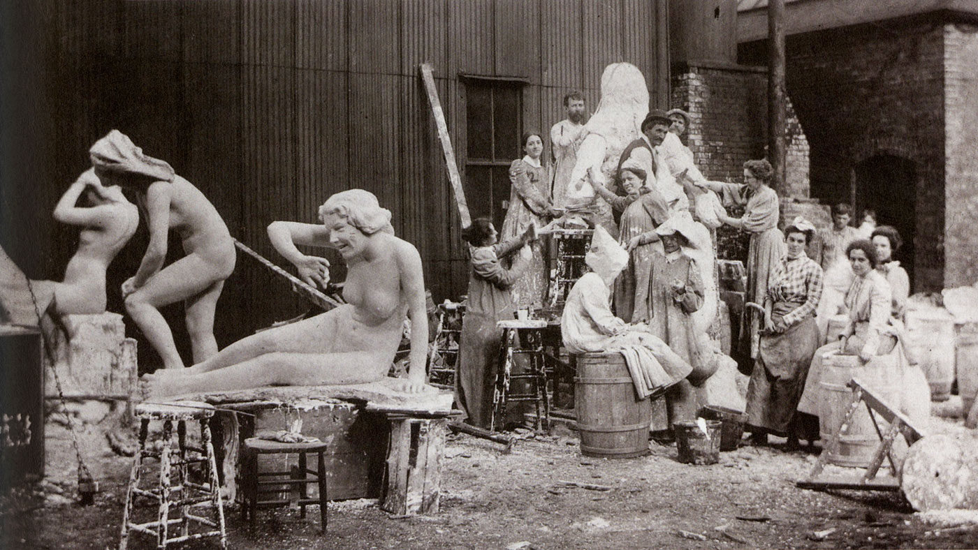 The White Rabbits at work on the World's Columbian Exposition