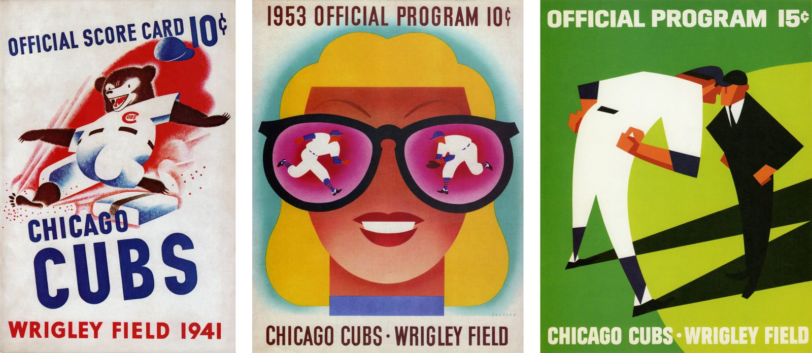 Chicago Cubs official programs