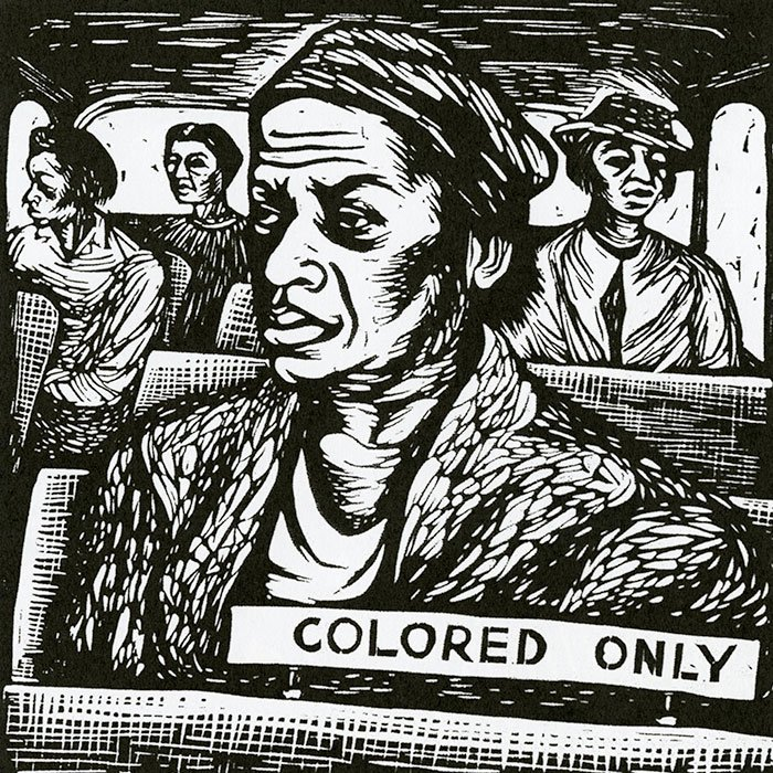 I Have Special Reservations… by Elizabeth Catlett, 1946