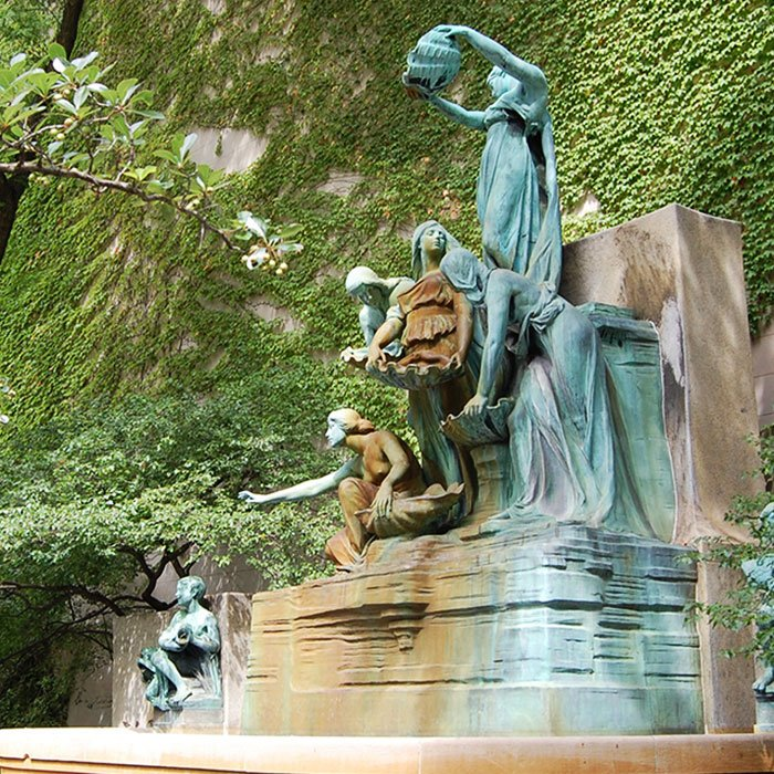 Fountain of the Great Lakes by Lorado Taft