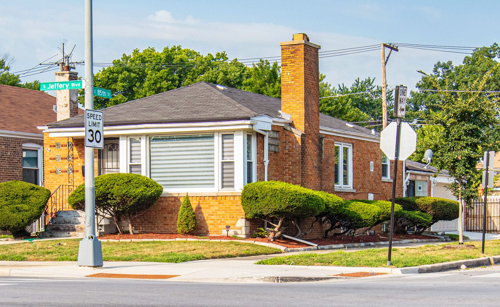 An Avalon Park home that Muhammad Ali lived in with his second wife, Khalilah Camacho-Ali