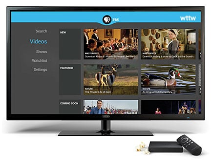 WTTW on Amazon Fire TV