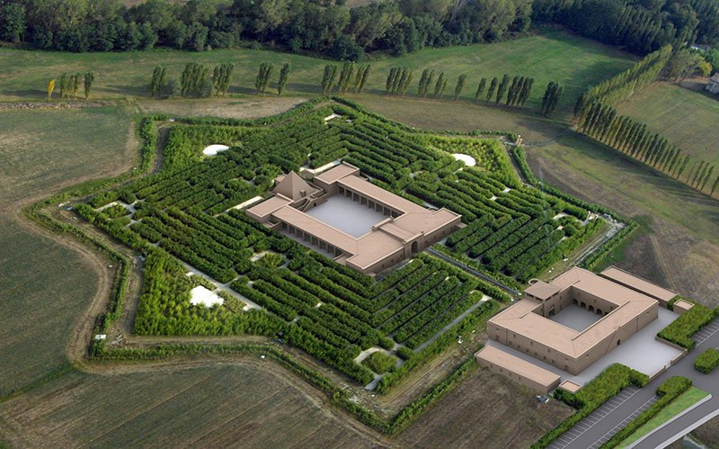 The Labyrinth of Franco Maria Ricci, Parma, Italy
