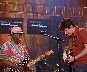 Buddy Guy and John Mayer