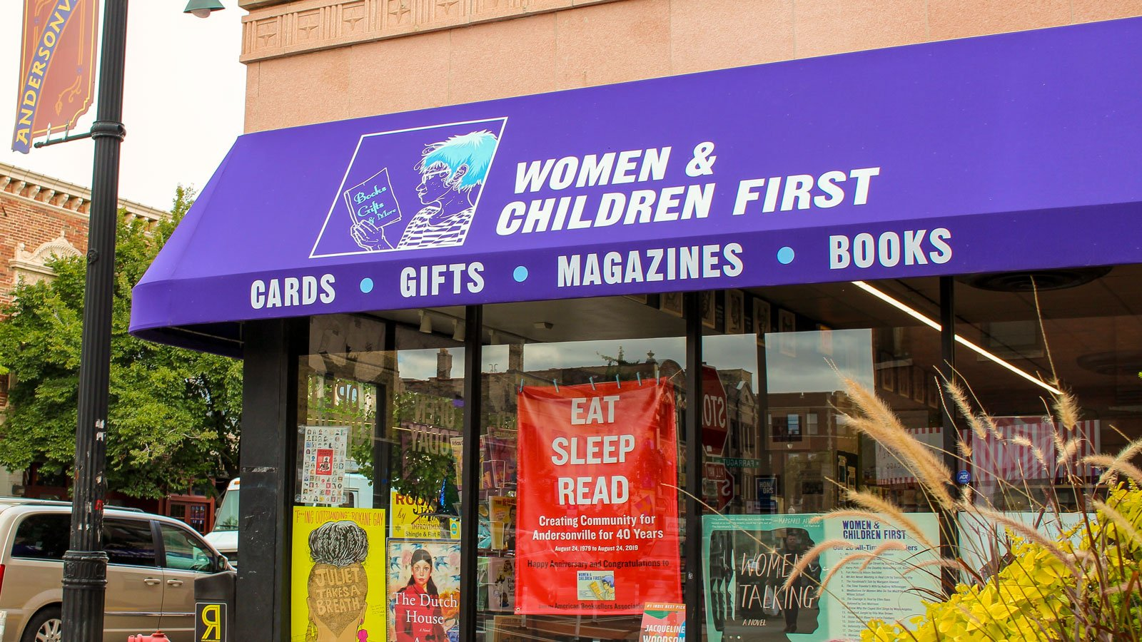 Women and Children First bookstore storefront