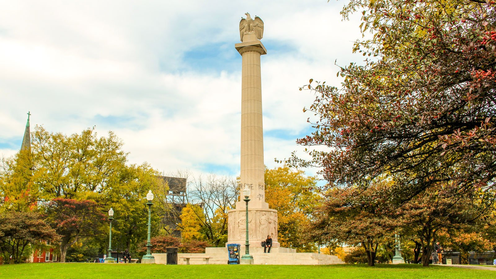 Centennial Monument, Logan Square, Chicago