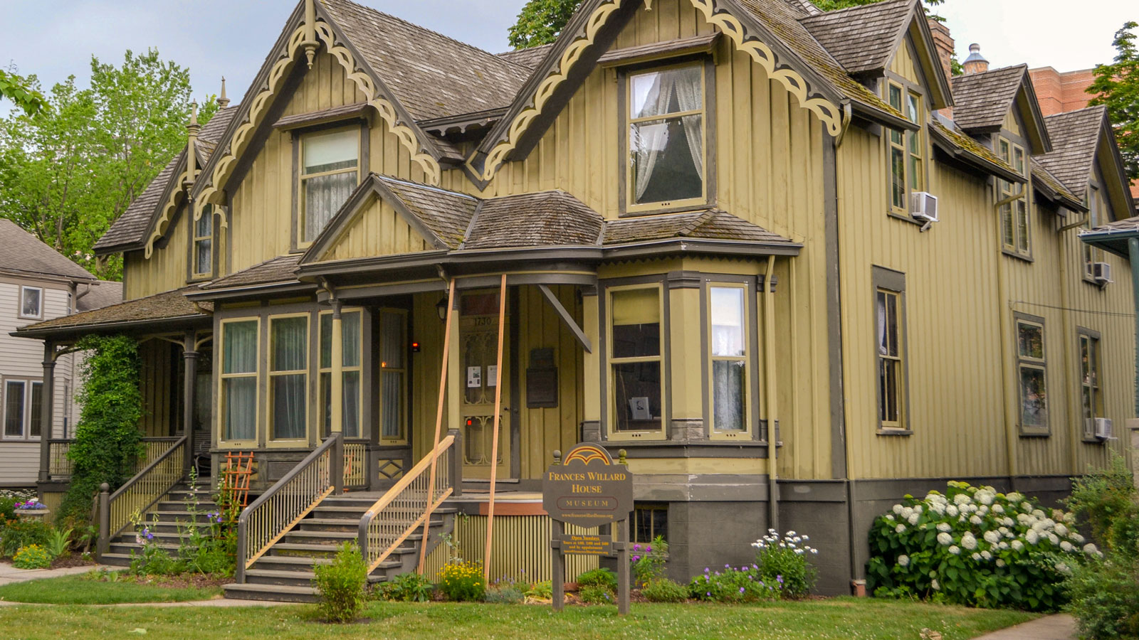 Frances Willard's home, now a museum