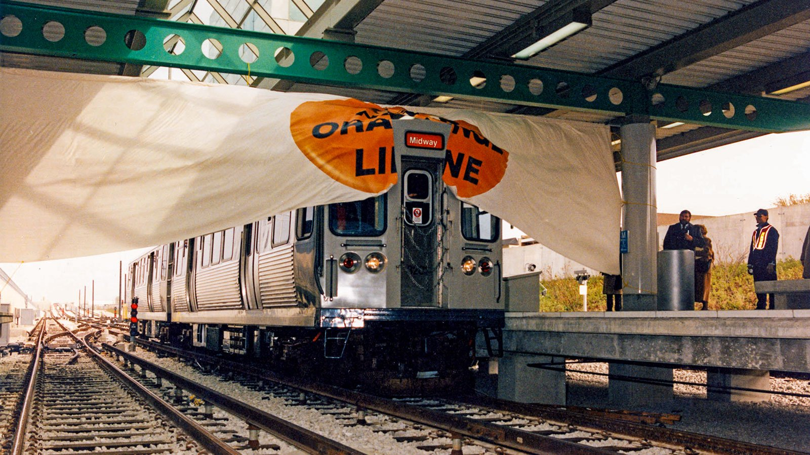 Orange Line opening on October 31, 1993