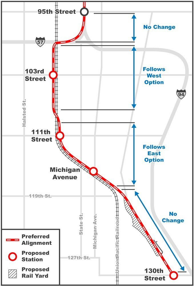 Proposed extension of Red Line