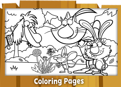 nature cat coloring pages Nature Cat | Home | WTTW Chicago nature cat coloring pages