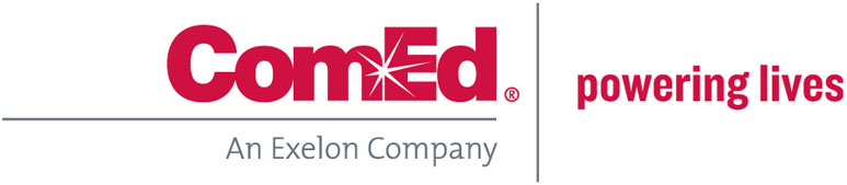 ComEd logo | Powering Lives