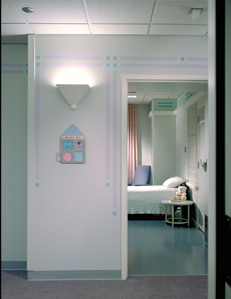 Cook Children's Medical Center, patient's room