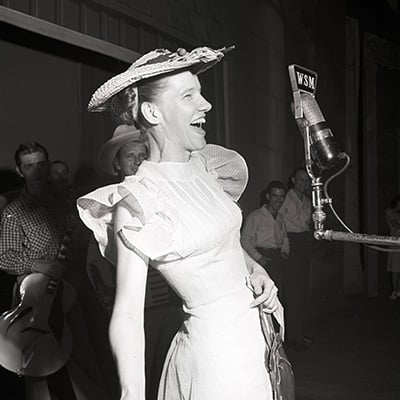 Minnie Pearl, c.1945. Photo: Courtesy of Ed Clark Collection