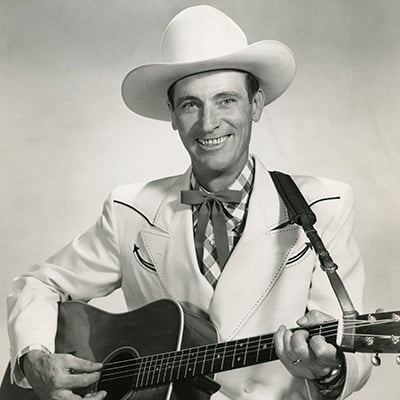 Ernest Tubb c.1950. Photo: Courtesy of Grand Ole Opry Archives