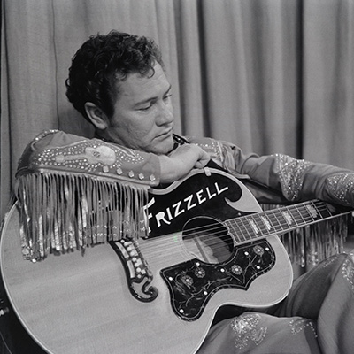 Lefty Frizzell at RCA Studios, Nashville, c.1955. Photo: Courtesy of Sony Music Archives