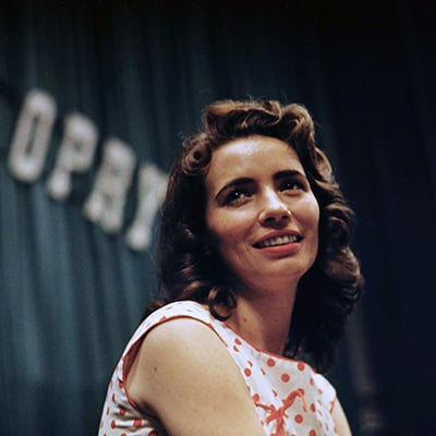 June Carter, c.1957. Photo: Courtesy of Sony Music Archives