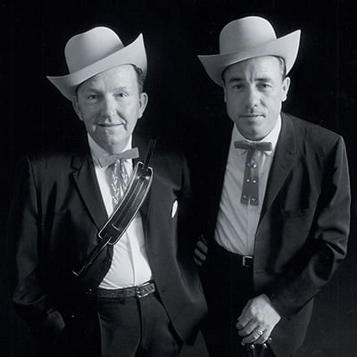Lester Flatt and Earl Scruggs, c.1960. Photo: Courtesy of Marty Stuart Archives