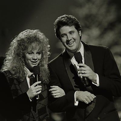 Reba McEntire and Vince Gill, c.1990. Photo: Courtesy of Metro Nashville Archives