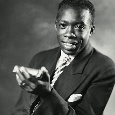 DeFord Bailey, one of the original headliners of the Grand Ole Opry, c.1935. Photo: Courtesy of Les Leverett Collection