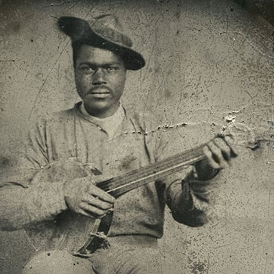 Banjo Player, c.1860 Photo: Courtesy of The Jim Bollman Collection