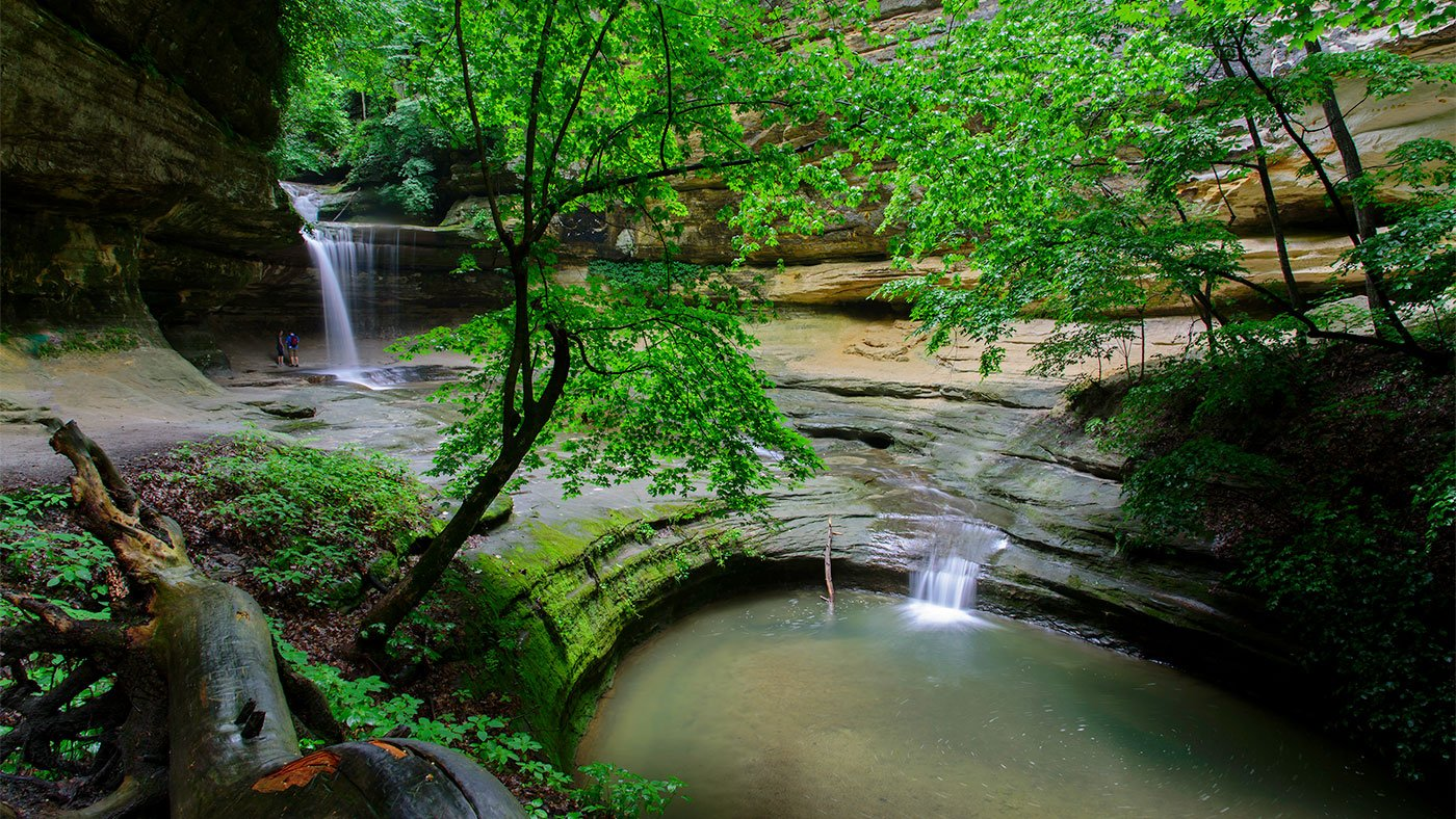 LaSalle Canyon at Starved Rock State Park