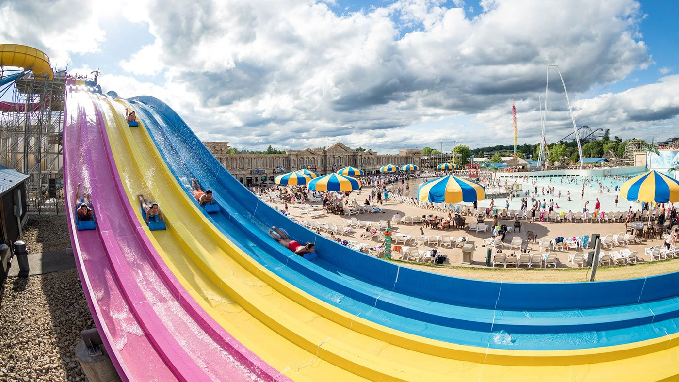 Mt. Olympus Water Park and Theme Park Resort in Wisconsin Dells, Wisconsin