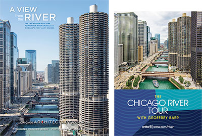 Chicago River Tour book and DVD