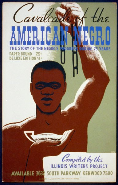 Book cover for Cavalcade of the American Negro