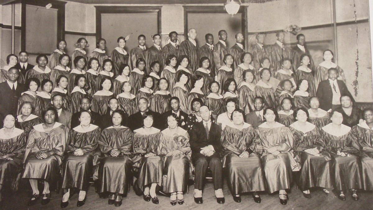 The first gospel choir started in 1931