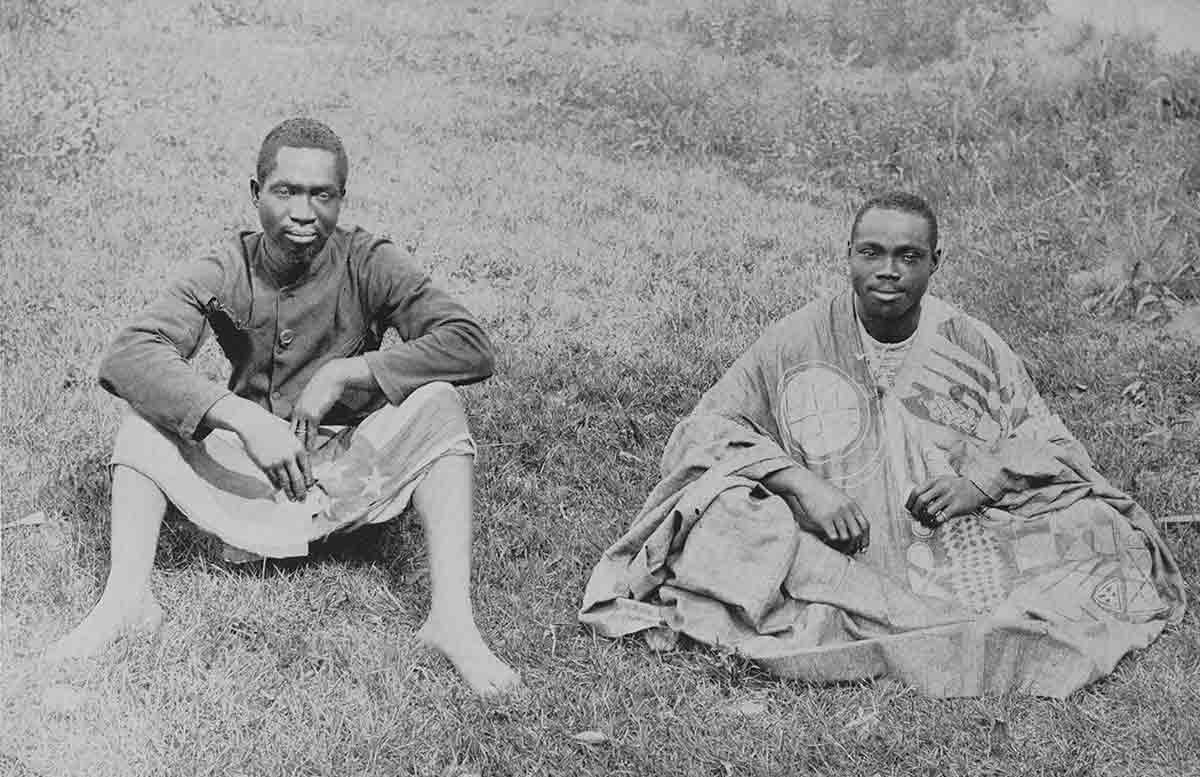 Men from the African nation of Dahomey