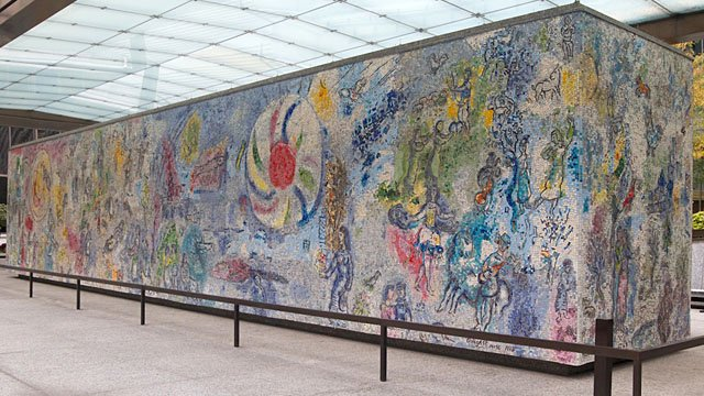 the four seasons by marc chagall wttw chicago public