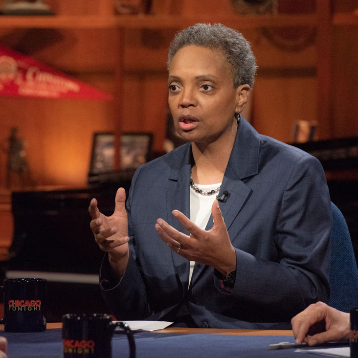 Lori Lightfoot on Chicago Tonight