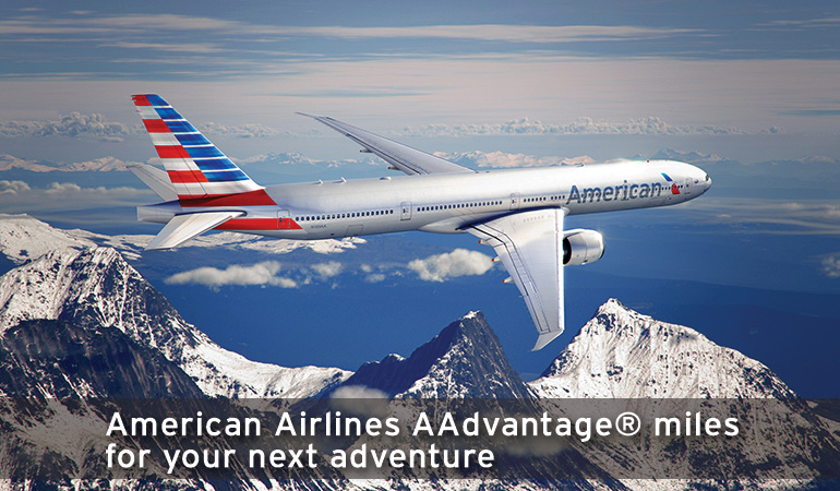 American Airlines AAdvantage® miles for your next adventure