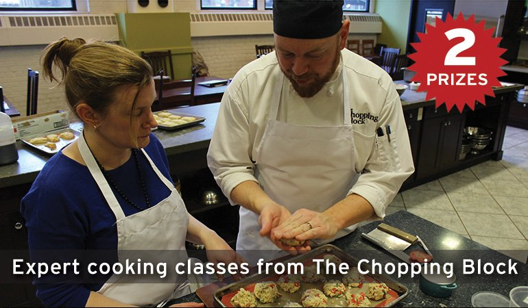 Expert cooking classes from The Chopping Block