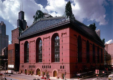 Beeby's Harold Washington Library  Photo: HBRA Architects