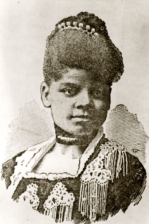 An illustration of Ida B. Wells