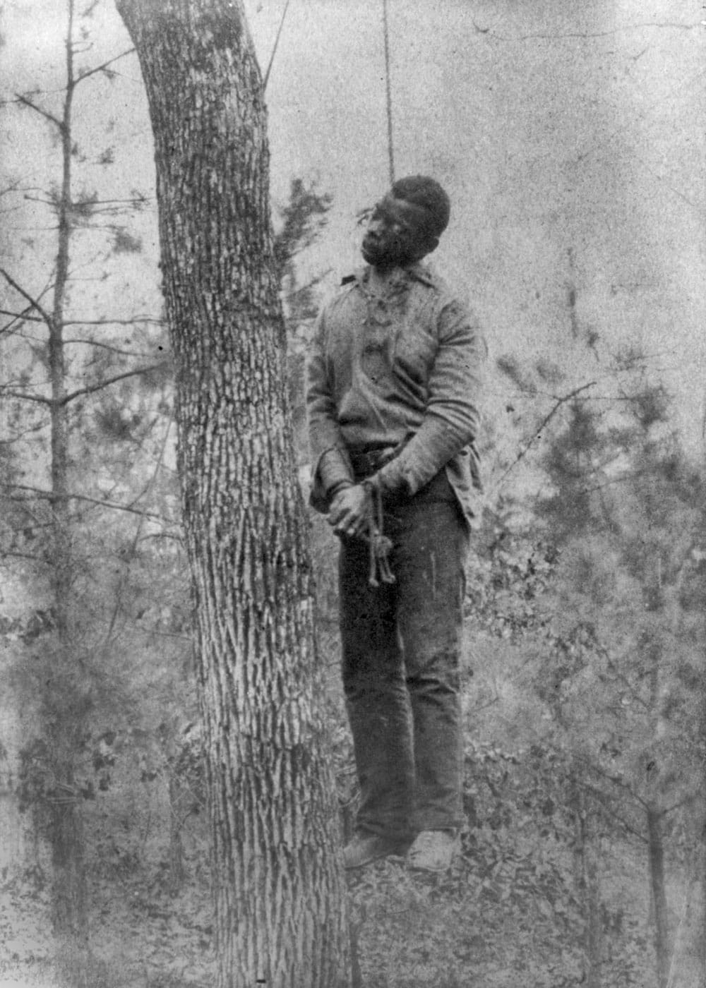 Lynching of a man from 1899