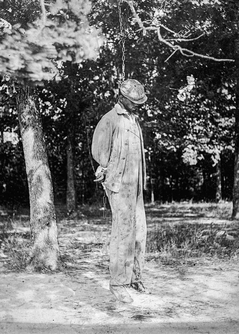 Lynching of a man in 1925
