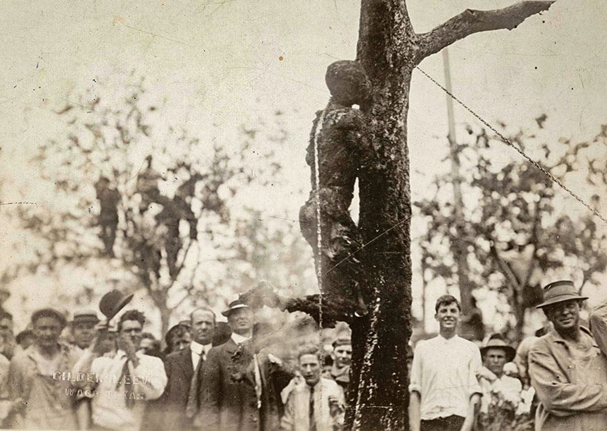 Lynching of Jesse Washington in 1916