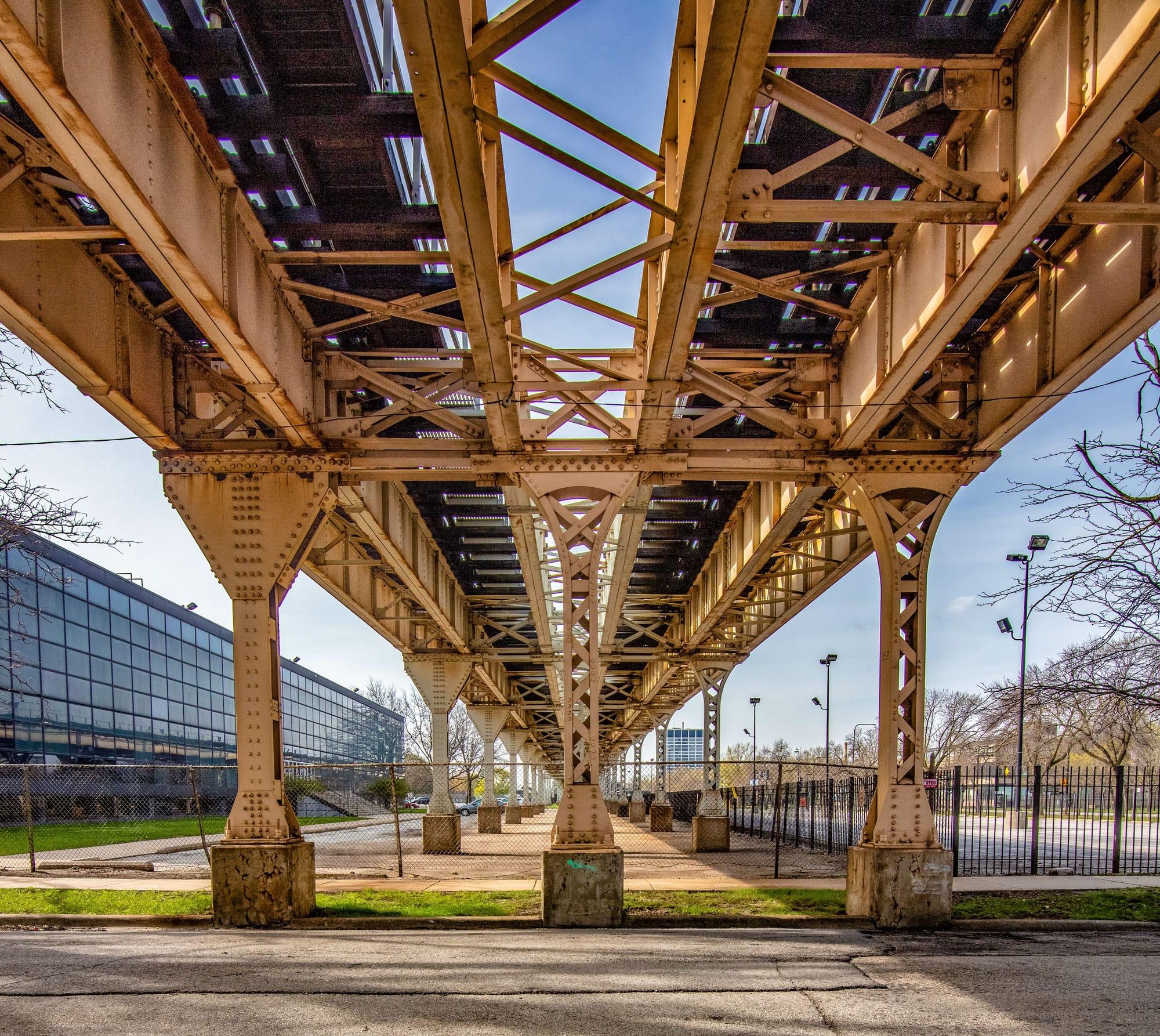 Chicago 'L' tracks