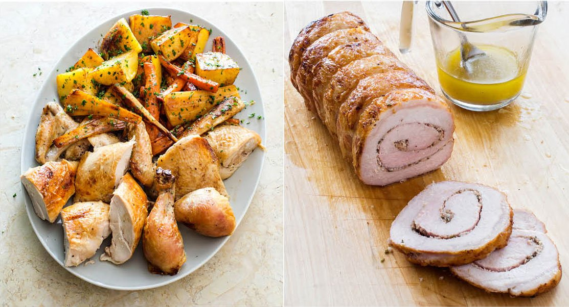 Roast Chicken With Root Vegetables America S Test Kitchen