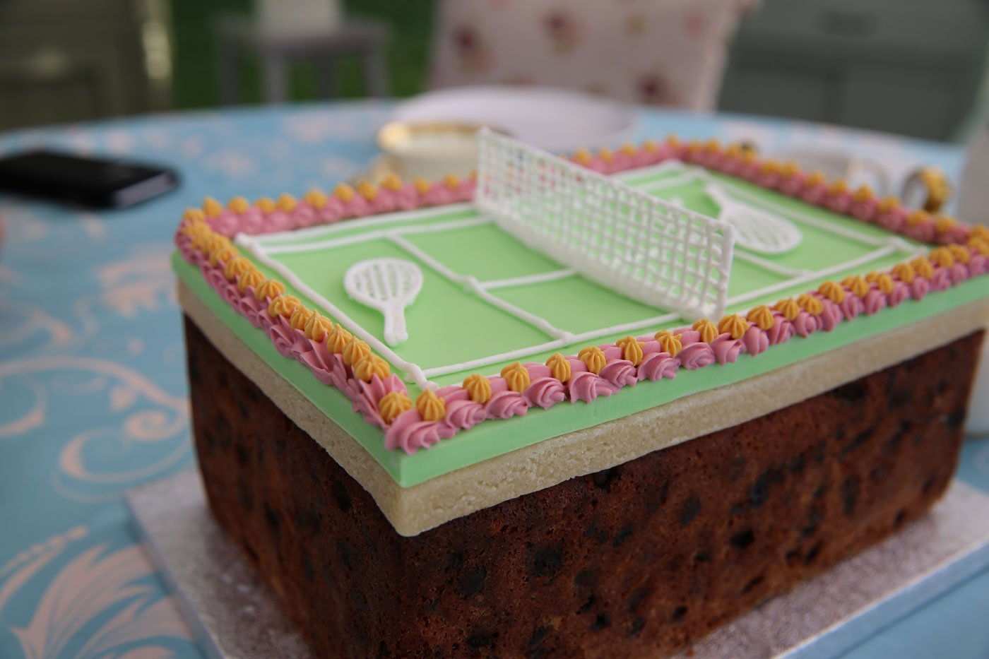 Victorian Tennis Fruit Cake From The Great British Baking Show Wttw Chicago