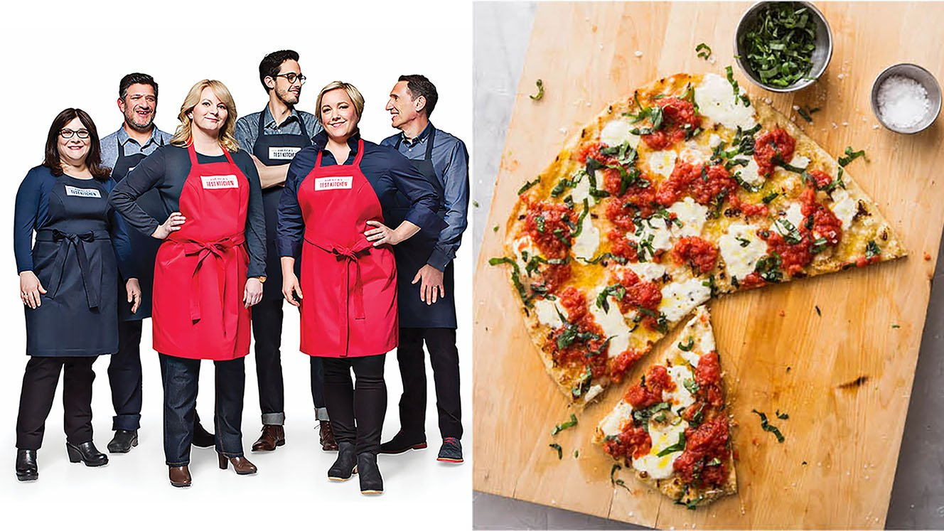 Grilled Pizza from America's Test Kitchen